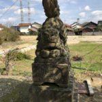 六所神社【阿吽逆転狛犬】