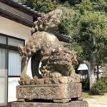 赤江八幡宮【でっかい狛犬】