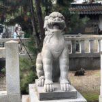 賣布神社【超人狛犬とやりづらい手水舎】