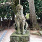 八重垣神社【日本に二個しかないうちの一個な狛犬】