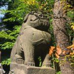 御田八幡神社/ぶさかわ狛犬
