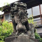 高円寺天祖神社【レア狛犬・御朱印も狛犬】