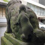 北野神社【乳飲み狛犬と選べる御朱印】