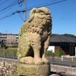 佐太神社【山の上にミニ狛犬】