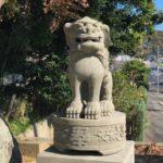 須賀神社/松江市春日町【令和生まれの狛犬】