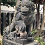 黒船稲荷神社/台東区【犬の圧が強い】