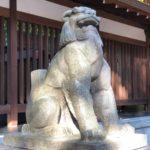 乃木神社【メカ狛犬】