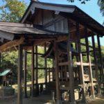 客神社/安来市【本殿よりも立派な屋根】