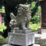 蝉丸神社【公園の遊具に囲まれました】