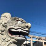 籏崎神社【赤屋根の本殿】