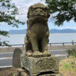 亀島神社【令和生まれの鳥居とスタンプラリー】