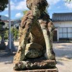 川跡神社【四連狛犬】