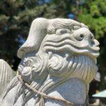 原鹿神社【おすわりも構えもいます】