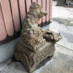 夜見神社【ギリギリ狛犬】