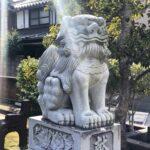 児守稲荷神社【狛犬さん、逆向き?】